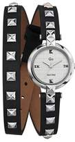 Go Women's 697856 Black Leather Band Watch.