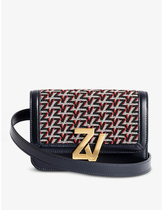 Zadig & Voltaire ZV Initiale Le Tote leather monogram cross-body bag