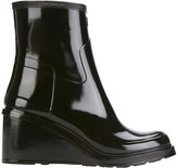 Hunter Refined Mid Wedge Glossy Rainboots