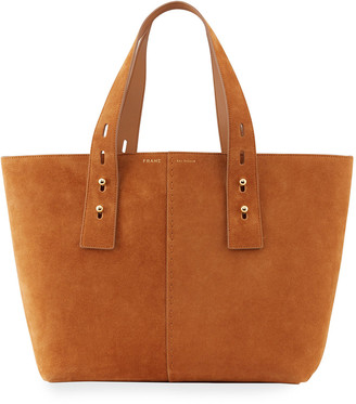 Frame Les Second Medium Suede Tote Bag