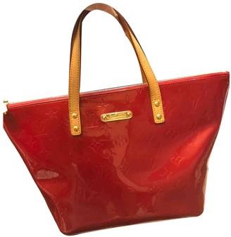 Louis Vuitton Bellevue Red Patent leather Handbags