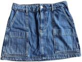 Denham Jeans Blue Denim - Jeans Skirt for Women