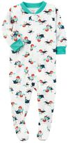 Carter's Baby Boy Printed Footed Pajamas