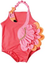 Mud Pie Baby Girls' Flamingo Swimsuit (T)