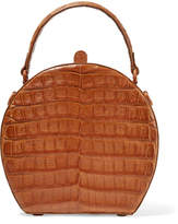 Nancy Gonzalez The Billie Crocodile Tote - Tan