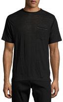 Rag & Bone Owen Cotton Pocket Crewneck T-Shirt