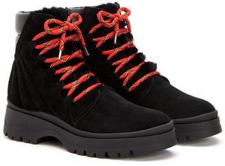 Aquatalia Salma Weatherproof Suede & Leather Boot