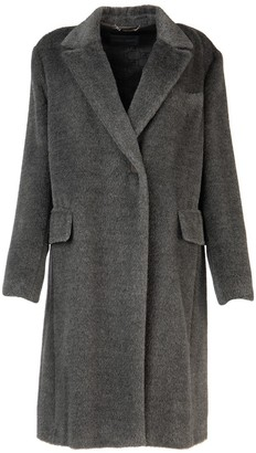 Alberta Ferretti Single Breasted Coat