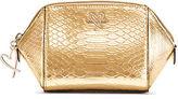 Victoria's Secret Victorias Secret Luxe Python On-The-Go Beauty Bag
