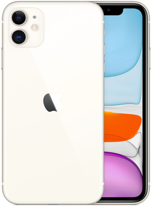 Apple iPhone 11 - 64GB White - Sprint with installments plan)