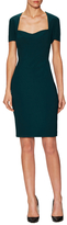 Narciso Rodriguez Sweetheart Cut Out Back Sheath Dress