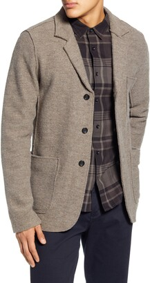BHLDN Jude Slim Fit Knit Wool Sport Coat