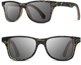 Shwood Men's Canby 55Mm Polarized Cactus & Wood Sunglasses - Walnut / Grey