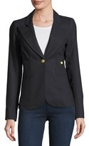 Smythe Duchess Single-Button Wool Blazer