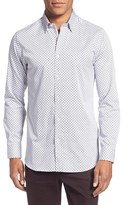Ted Baker Men's 'Lenons' Trim Fit Print Sport Shirt