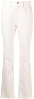 Brunello Cucinelli Mid-Rise Slim-Cut Jeans