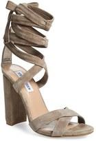 Steve Madden Women's 'Christey' Wraparound Ankle Tie Sandal