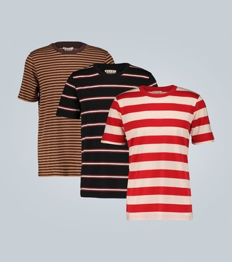 Marni Set of 3 striped T-shirts