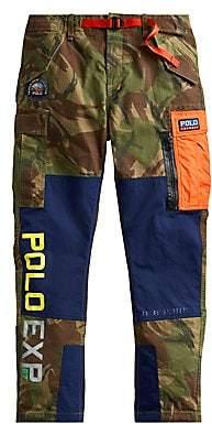 Polo Ralph Lauren Men's Camouflage Canvas Cargo Pants