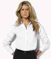 """Lauren Ralph Lauren Petite """"Aaron"""" Wrinkle-Free Shirt"""