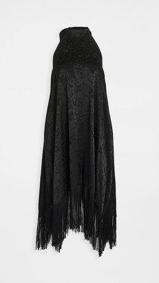 MSGM Sleeveless Fringe Dress