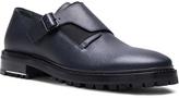Lanvin Shiny Monk Strap Shoes with Elastic Details