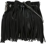 Stella McCartney 'Falabella' fringed bucket shoulder bag - women - Artificial Leather/metal - One Size