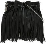 Stella McCartney 'Falabella' fringed bucket shoulder bag