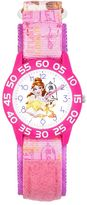Disney Disney's Beauty and the Beast Belle & Lumiere Kids' Time Teacher Watch