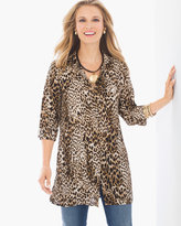 Chico's Leopard Statement Shirt