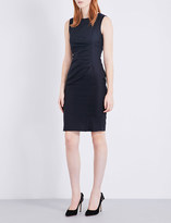 Max Mara Canter ruched woven dress