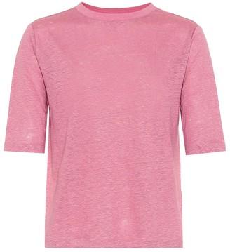 Vince Linen-jersey T-shirt