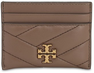 Tory Burch Kira Quilted Leather Card Holder