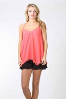 VAVA by Joy Han Dorothy Tank Top Coral
