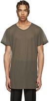 Versace Khaki Long T-Shirt