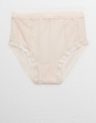 aerie POP! Lace High Waisted Bikini Underwear