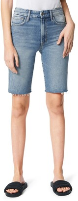 Joe's Jeans The Bermuda High Waist Denim Shorts