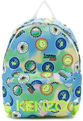 Kenzo patch print backpack