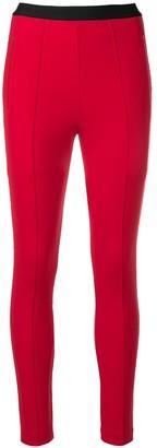 Balenciaga logo waistband leggings