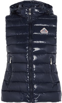 Pyrenex Spoutnic Quilted Glossed-shell Down Gilet - Storm blue