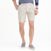 J.Crew Wallace & Barnes double-pleated short in seeded canvas