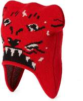 Gucci Children's hat with tiger jacquard