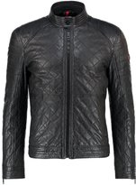 Strellson Utah Leather Jacket Grau
