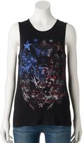 Rock & Republic Women's Embellished Eagle Tank