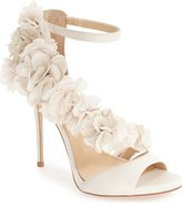 Imagine by Vince Camuto 'Daphne' Floral Ankle Strap Sandal (Women)