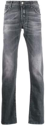 Jacob Cohen handkerchief detail slim jeans