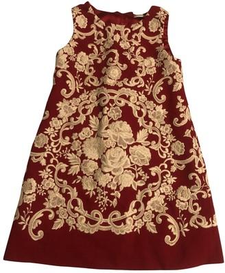Dolce & Gabbana Red Cotton Dresses