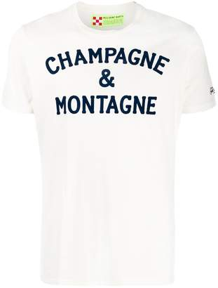 MC2 Saint Barth Mon Champ slogan print T-shirt