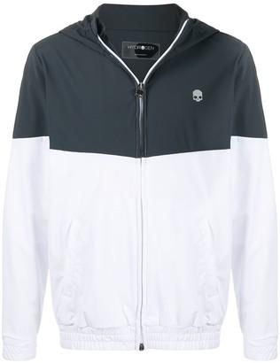 Hydrogen Bi-Colour Hooded Track Jacket