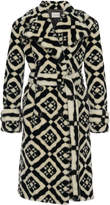 Mary Katrantzou Stokes Faux Fur Coat